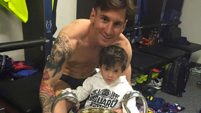 Lionel Messi's Tattoo