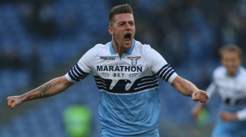 Tottenham Keen On Lazio Midfielder Sergej Milinkovic Savic