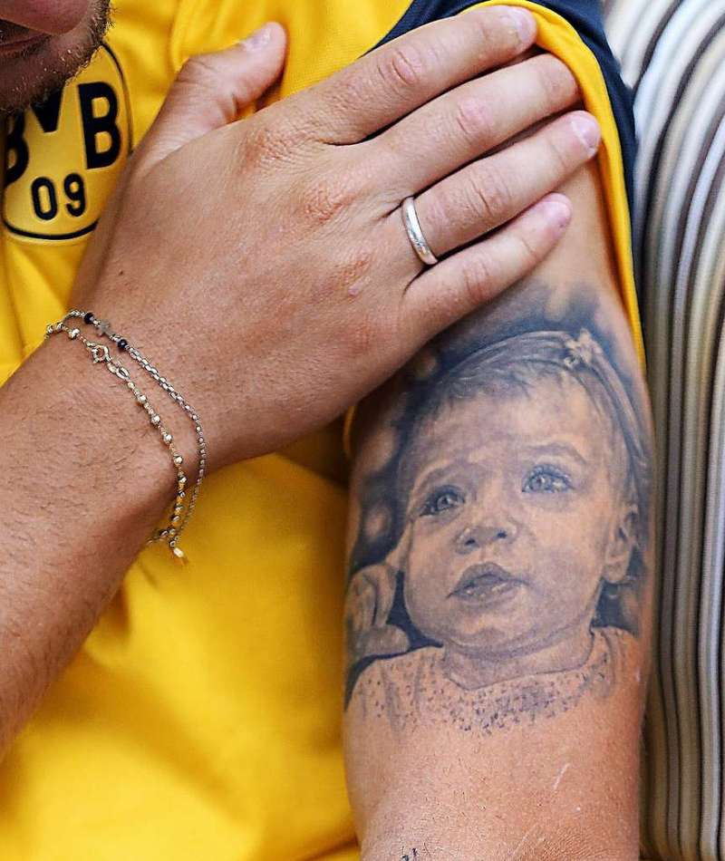 Ciro Immobile's Tattoo