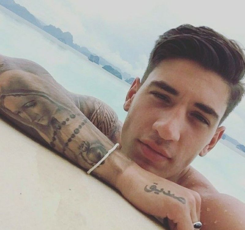 Hector Bellerin's Tattoo