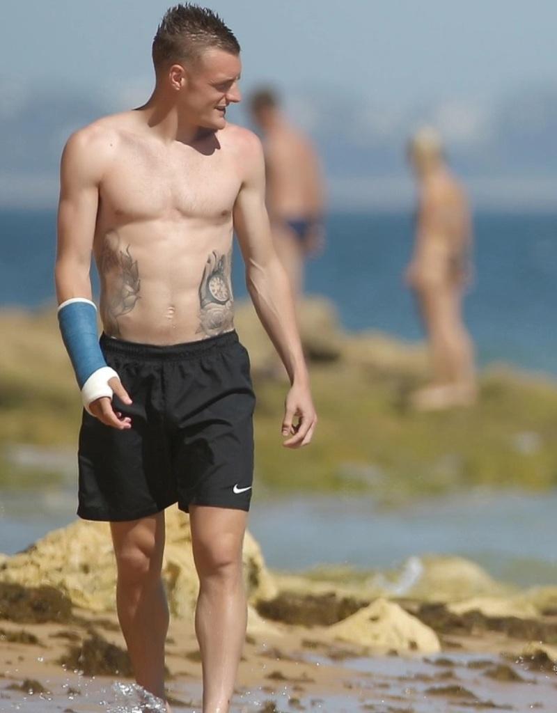 Jamie Vardy's Tattoo