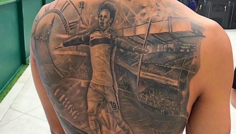 Leroy Sane's Tattoo