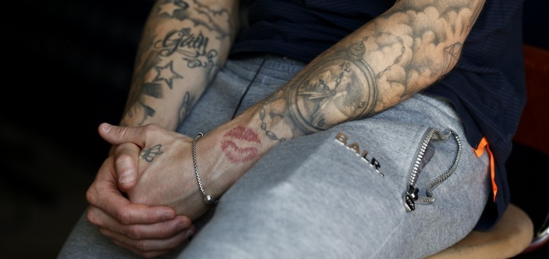 Lucas Digne's Tattoo