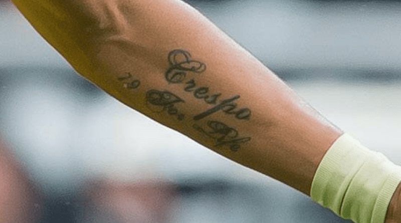 Pierre-Emerick Aubameyang's Tattoo