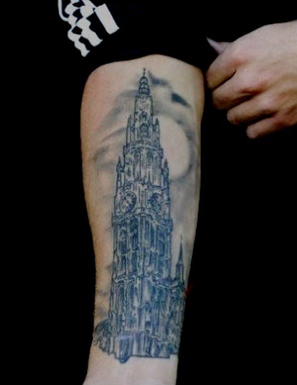 Toby Alderweireld's Tattoo