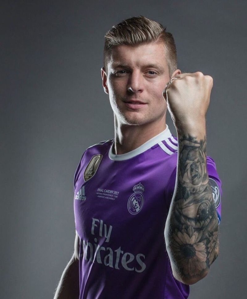 Toni Kroos' Tattoo