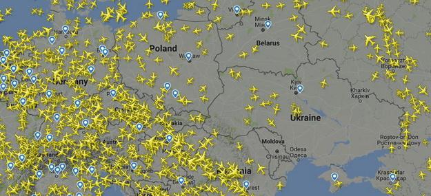 Общее авиапространство Украины с ЕС
