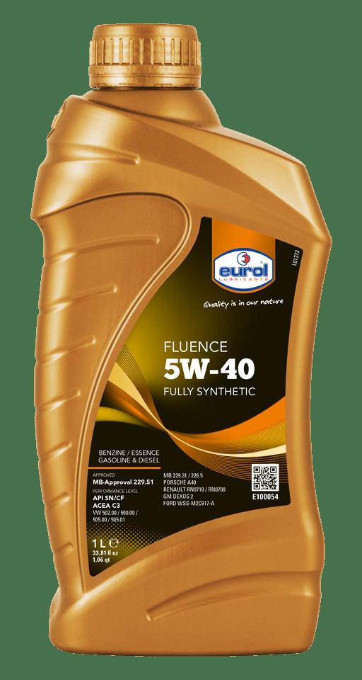Eurol Fluence 5W-40 1L Арт. E100054-1L