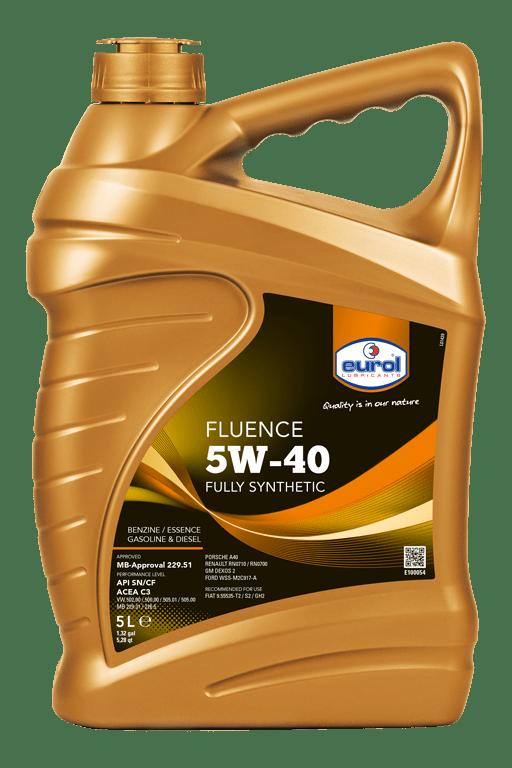 Eurol Fluence 5W-40 5L Арт. E100054-5L