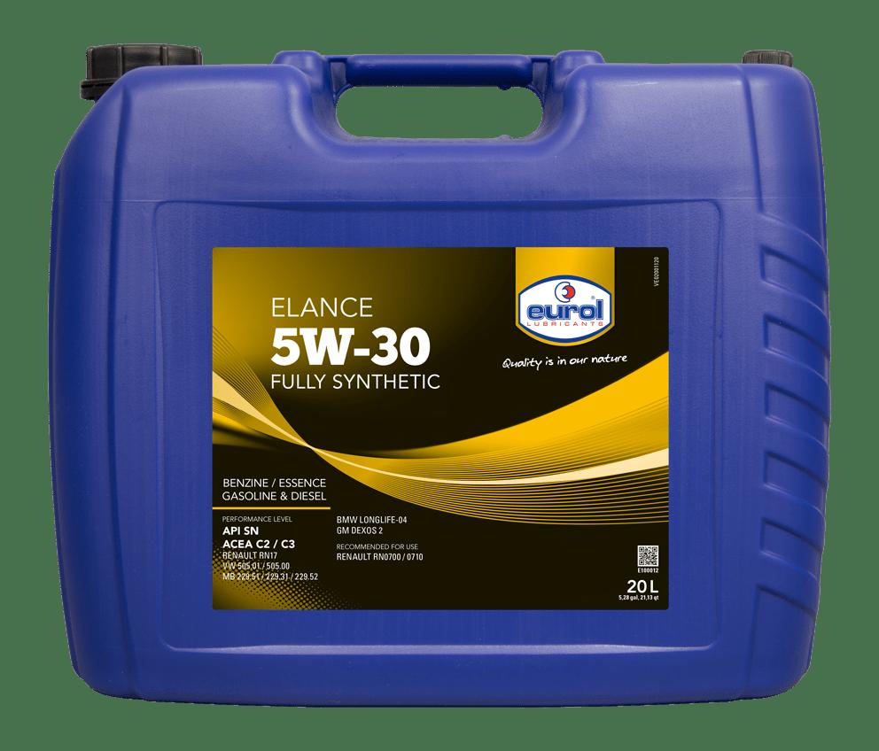 Eurol Elance 5W-30 20L Арт. E100012-20L