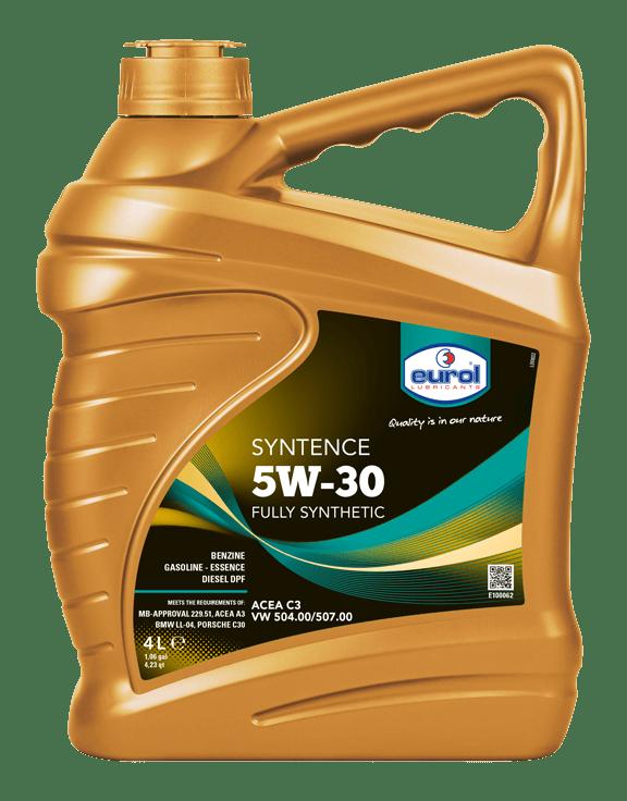 Eurol Syntence 5W-30 4L Арт. E100062-4L