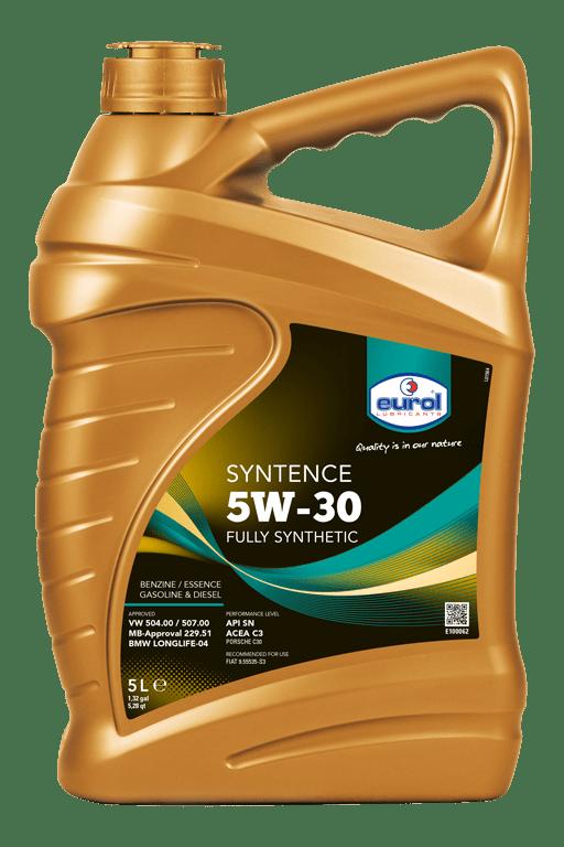 Eurol Syntence 5W-30 5L Арт. E100062-5L