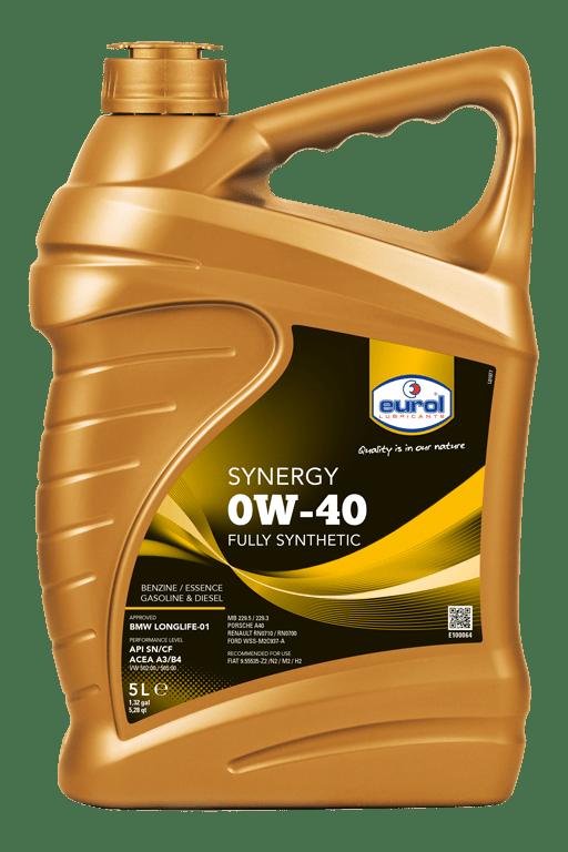 Eurol Synergy 0W-40 5L Арт. E100064-5L