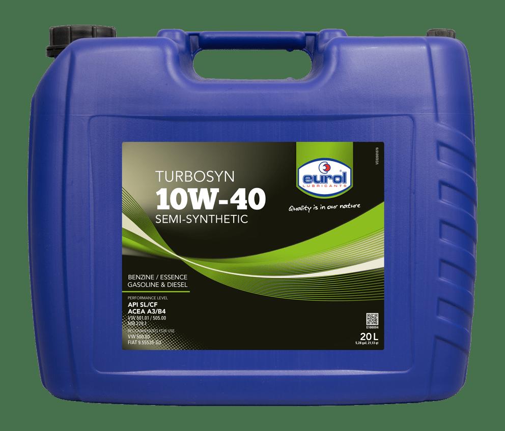 Eurol Turbosyn 10W-40 20L Арт. E100094-20L