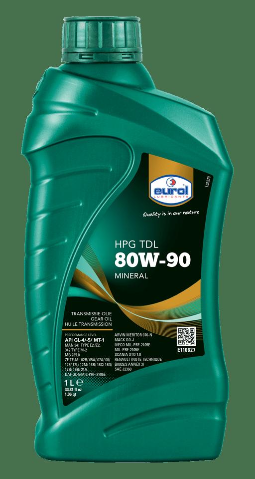 Eurol HPG 80W-90 TDL GL4/5 1L Арт. E110627-1L