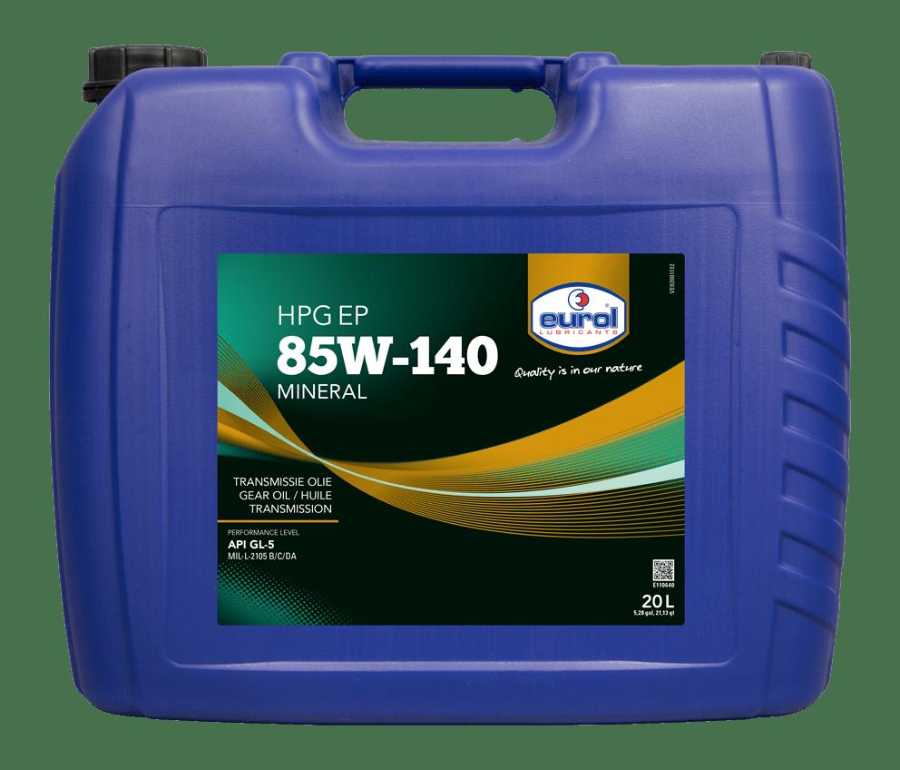 Eurol HPG EP 85W-140 GL5 20L Арт. E110640-20L