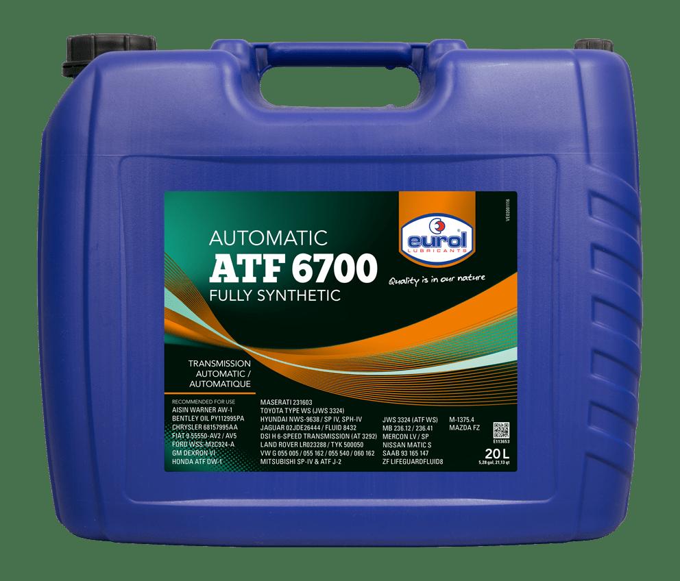 Eurol ATF 6700 20L Арт. E113653-20L