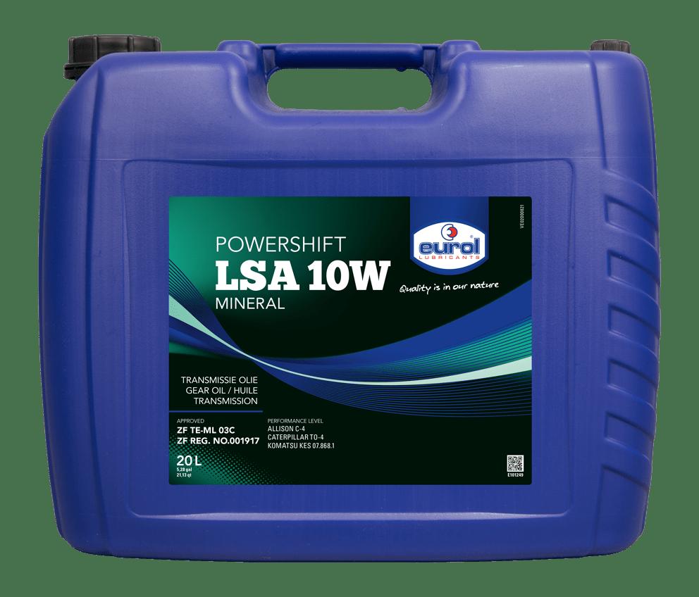 Eurol Powershift LSA 10W 20L Арт. E101249-20L