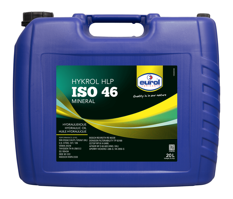 Eurol Hykrol HLP ISO 46 20L Арт. E108720-20L