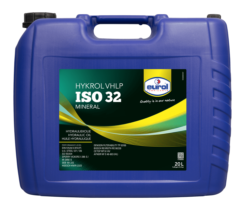 Eurol Hykrol VHLP ISO 32 20L Арт. E108800-20L