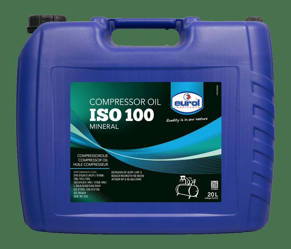 Eurol Compressor Oil ISO 100 20L Арт. E118855-20L