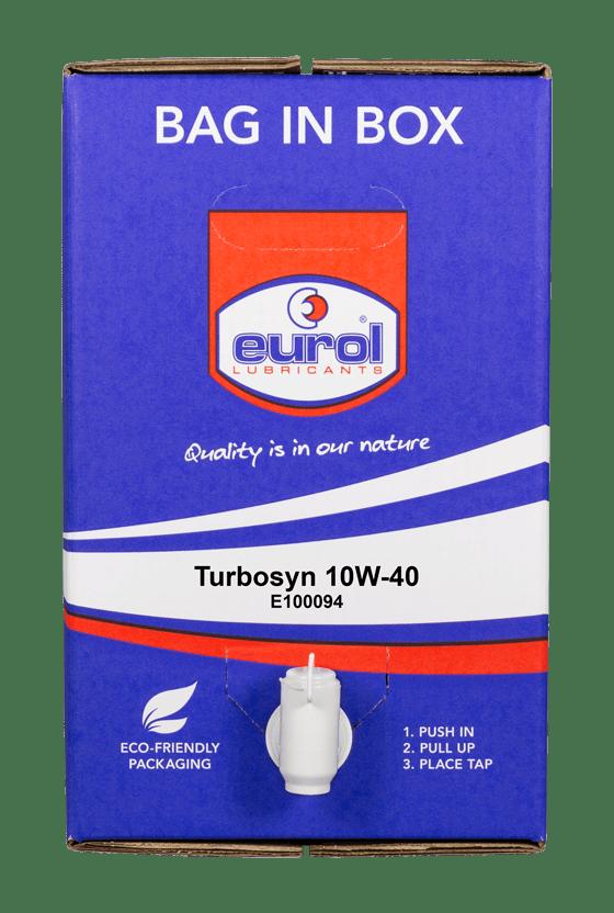 Eurol Turbosyn 10W-40 Арт. E100094-20L-BIB