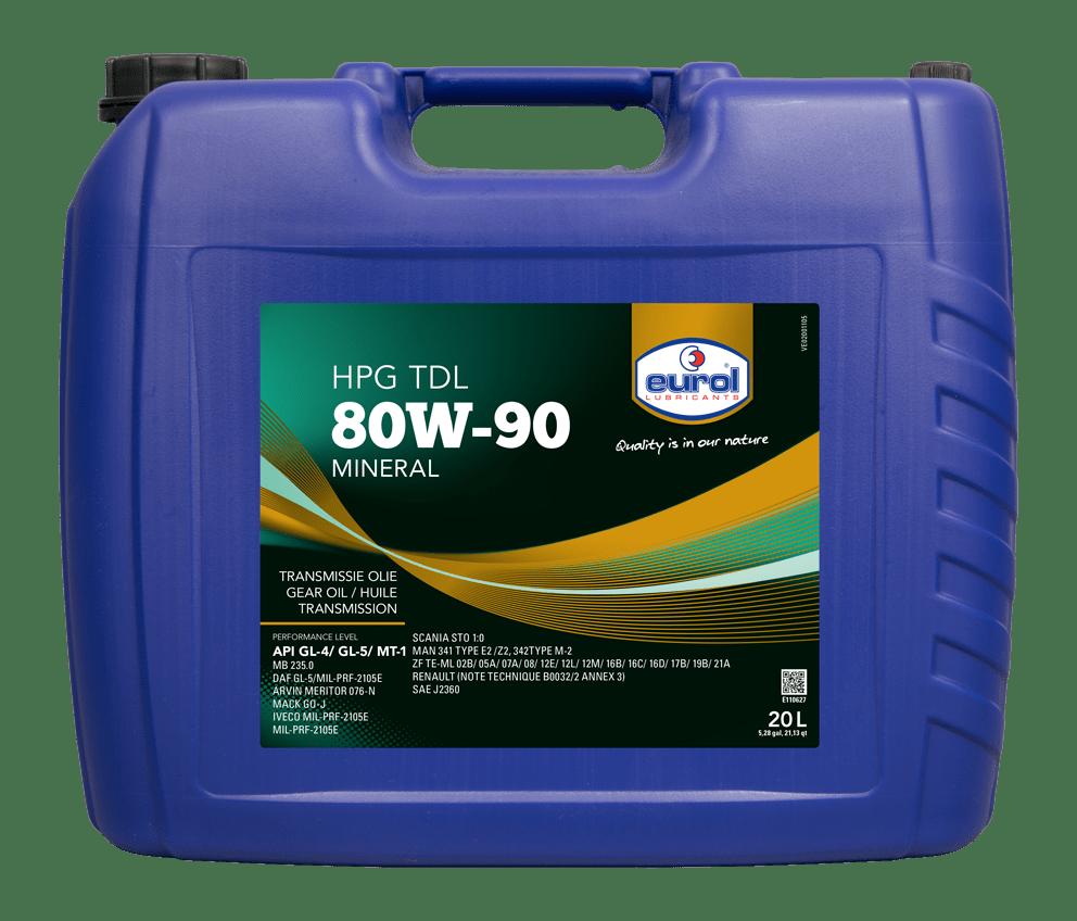 Eurol HPG 80W-90 TDL GL 4/5 Арт. E110627-20L