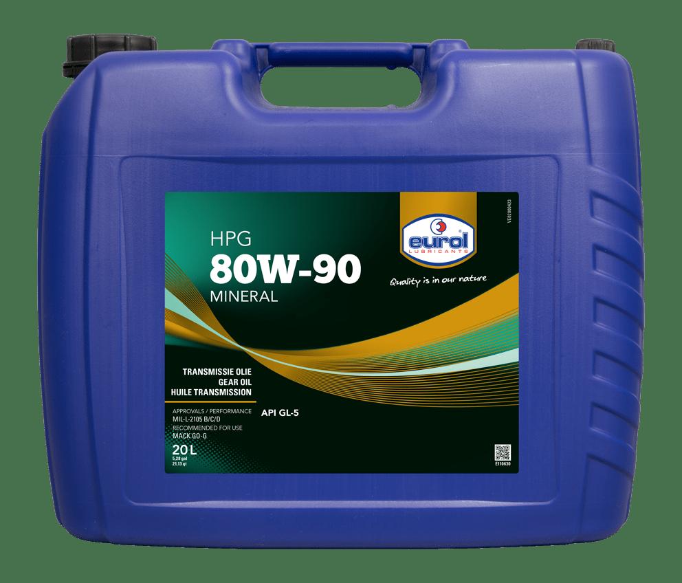 Eurol HPG 80W-90 Арт. E110630-20L