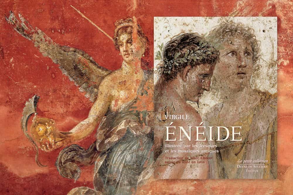 «L'Enéide, illustrée par les fresques et les mosaïques antiques », de Virgile.