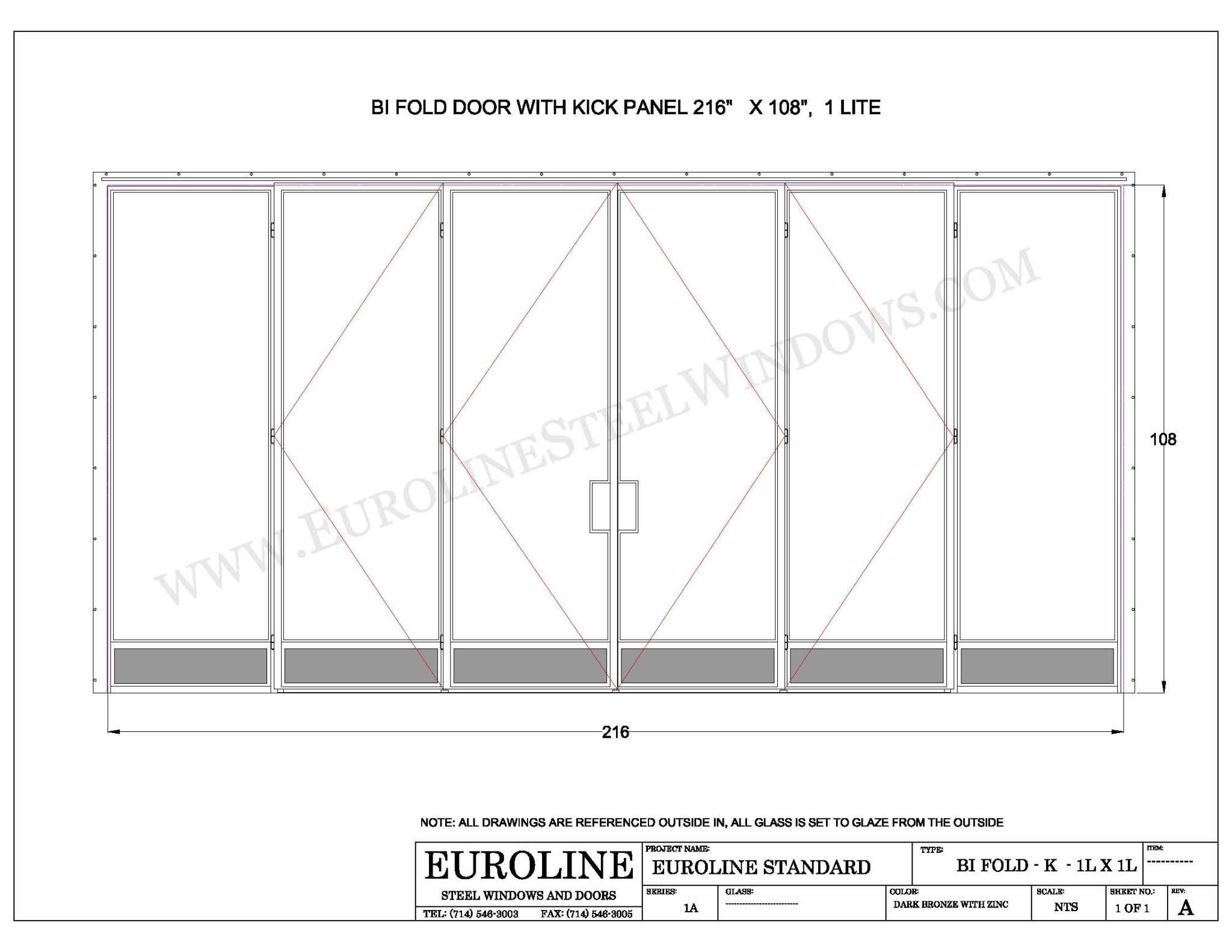 Folded Door Dwg & DwgFolding Doors Aluminum Wood Outswing Sectionals