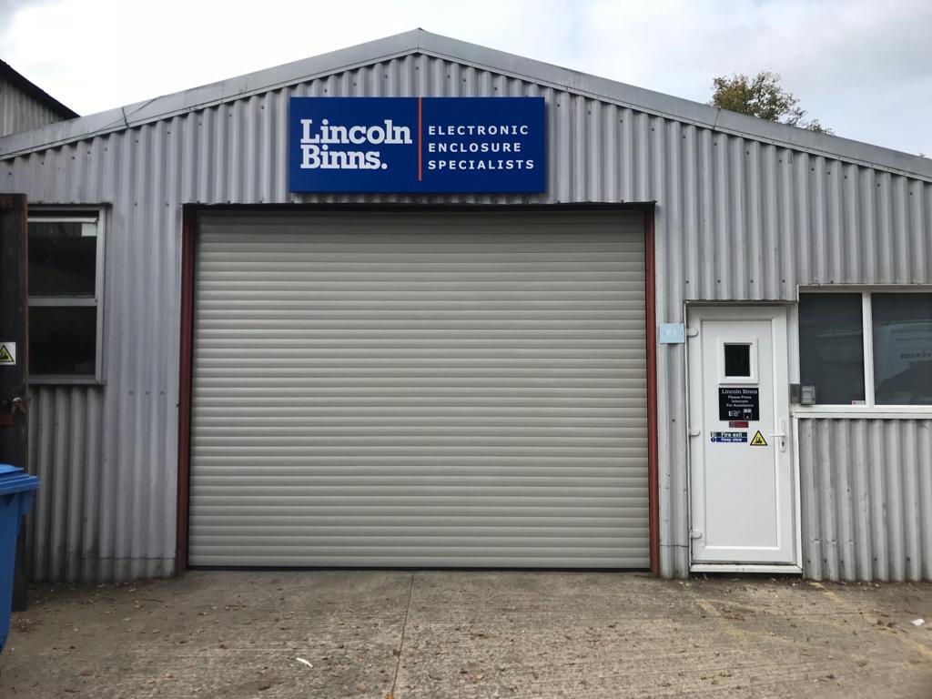 Lincoln Binns Steel Shutter by Euroll UK