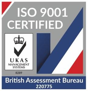 ISO 9001:2015 Euroll UK