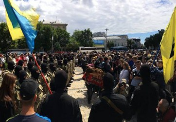 Azov Battalion in Kyiv