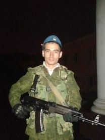 Gritsyuk on duty