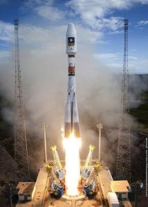 Soyuz-Fregat launch vehicle blasted off from French Guiana and was supposed to deliver the two Galileo satellites into a circular orbit. August 22, 2014