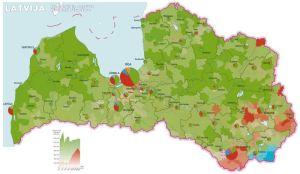Latvia by ethnic group