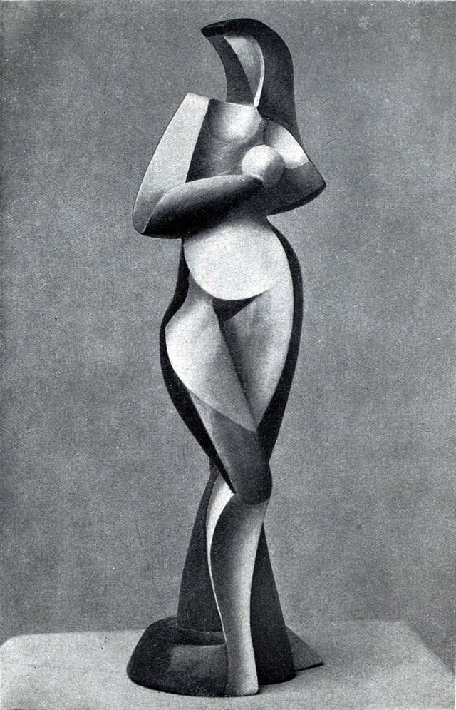 Art of Alexander Arkhypenko, the Cubist pioneer.