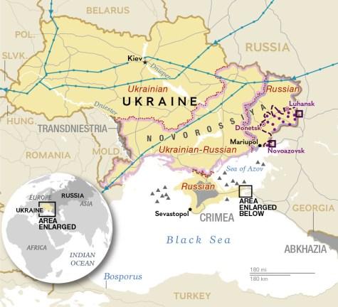 The original map