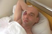 Wiktor Gordunow im Krankenhaus - Foto: regnum.ru