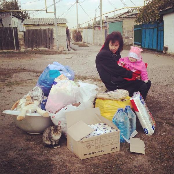 Güter des täglichen Bedarfs fehlen in Donezk