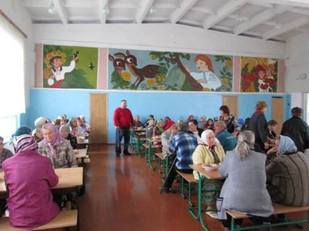 Providing meals for the elderly