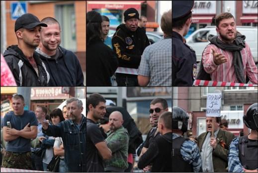 Provokateure in Kaliningrad - Foto: Roman Yhnovec