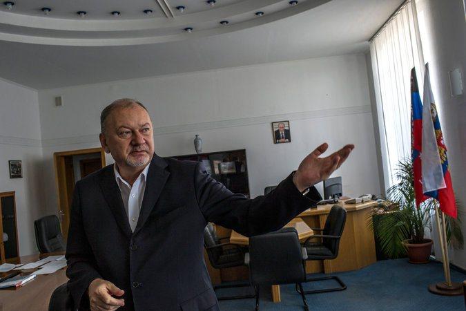 Wladimir Antjufejew, ehemaliger Sicherheitschef im russisch-kontrollierten Gebiet Transnistrien. Foto: New York Times
