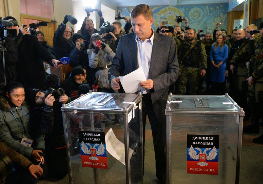 Donbas election