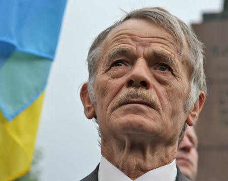 Mustafa Cemilev, the longtime leader of the Crimean Tatar national movement