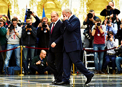 Lukashenka and Putin in Minsk