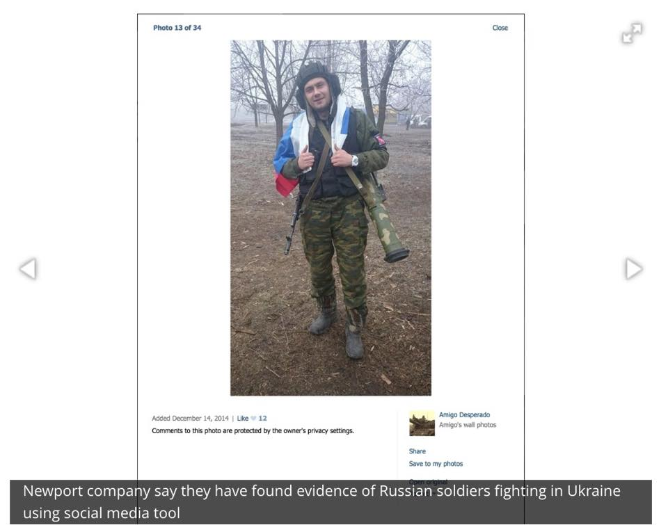 Russian Soldier in Ukraine