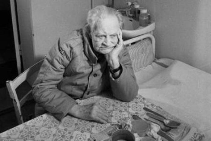 Erich Koch in a Polish prison at 90