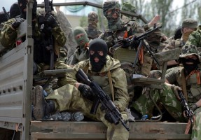 Russian forces sent to attack Donetsk airport (photo: korrespondent.net)