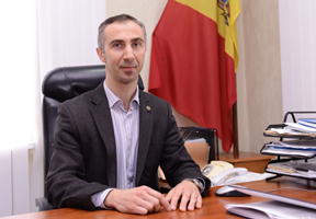 Andrey Volentir, secretary of Moldova's Central Election Commission (Image: Infotag.md)